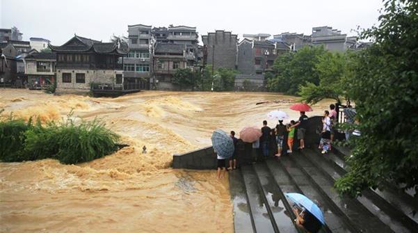 洪水無情  聚愛三湘